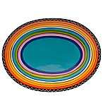 Certified International Tequila Sunrise Oval Platter