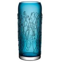 Kosta Boda Large Twine Vase in Blue