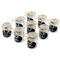 Ivy Lane Design Oval Chalkboard Tag Mini Jelly Jar Favor Pack (Set of 9)