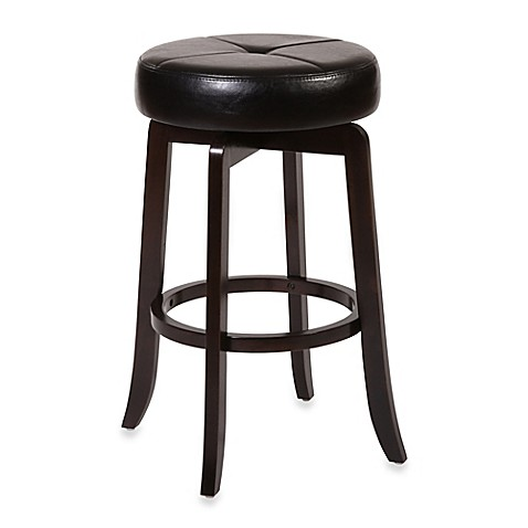 Buy Ampersand Rhodes 26 Inch Backless Swivel Counter Stool In Dark Espresso From Bed Bath Beyond