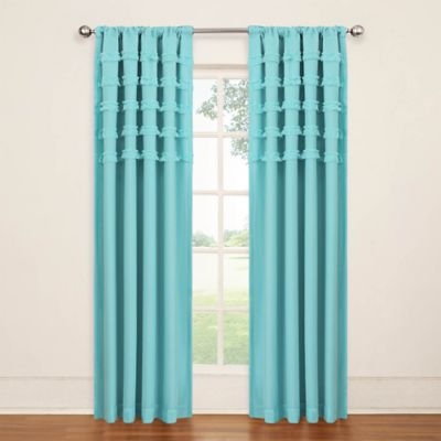 buy turquoise panel curtains from bed bath & beyond