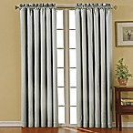 SolarShield® Carmen Rod Pocket 84-Inch Room Darkening Window Curtain Panel in Grey