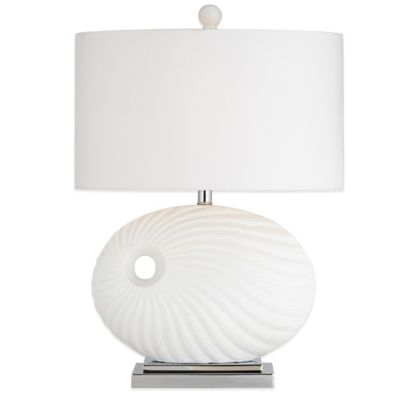 Pacific Coast Lighting Table Lamp In White