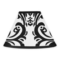 Sweet Jojo Designs Isabella Lamp Shade in Black/White
