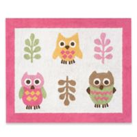 Sweet Jojo Designs Happy Owl Rug in Pink