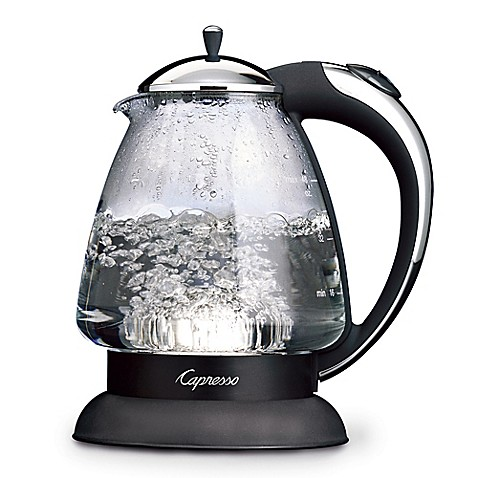 Capresso 174 H2o Plus Glass Water Kettle Bed Bath Amp Beyond