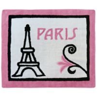 Sweet Jojo Designs Paris 30-Inch x 36-Inch Accent Rug