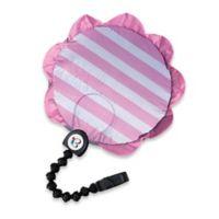 Buggygear™ Buggyguard Sunchaser UPF50 Universal Stroller Sunvisor in Pink Petals/Silver