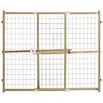 North States Quick Fit Wire Mesh Safety Gate
