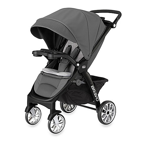 Chicco® Bravo™ LE Stroller in Coal - buybuy BABY