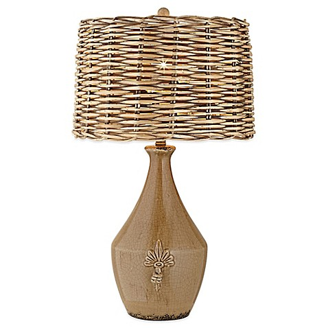Pacific Coast Lighting Urban Pottery Vase Table Lamp With
