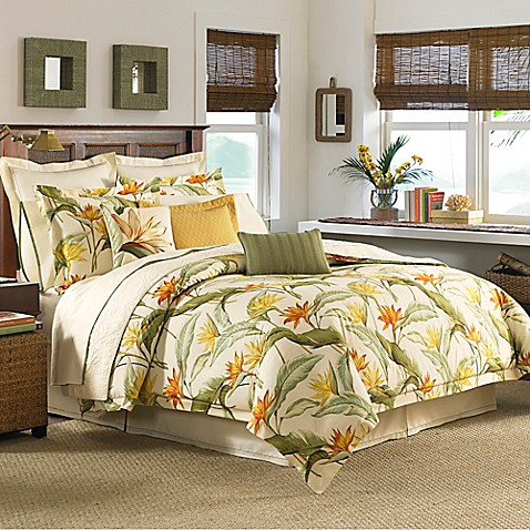 Tommy Bahama 174 Birds Of Paradise European Pillow Sham Bed