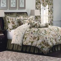 Williamsburg Garden Images King Comforter Set in Parchment