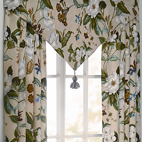 Williamsburg Garden Images Window Curtain Panel And