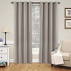 SolarShield® Naomi 84-Inch Blackout Window Curtain Panel in Linen