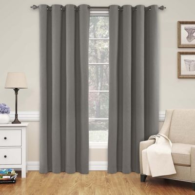 Buy Smoke Blue Curtain Panel From Bed Bath Amp Beyond