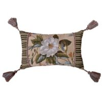 Williamsburg Garden Images Oblong Throw Pillow in Parchment