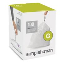 simplehuman® Code G 100-Pack 8-Gallon Custom Fit Liners
