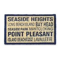 Coastal Central Jersey Door Mat