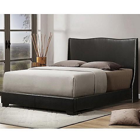 Buy Duncombe Designer Queen Bed With Upholstered Headboard