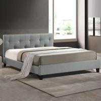 Annette Designer Bed with Upholstered Headboard