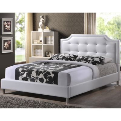 buy white queen bed headboards from bed bath & beyond