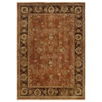 Oriental Weavers Casablanca Floral Border 7-Foot 10-Inch x 10-Foot 10-Inch Rug in Red