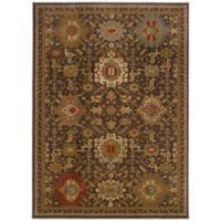 Oriental Weavers Casablanca 9-Foot 10-Inch x 12-Foot 10-Inch Rug in Brown