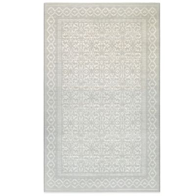 Buy Nila 5 Foot X 7 Foot 6 Inch Area Rug In Grey Yellow