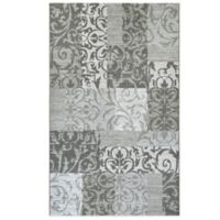 Couristan® Marina Collection Cyprus 3-Foot 11-Inch x 5-Foot 6-Inch Area Rug in Grey