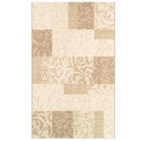 Couristan® Marina Collection Cyprus 5-Foot 3-Inch x 7-Foot 6-Inch Area Rug in Beige
