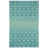 Kevin O'Brien by Capel Rugs Lisbon 7-Foot x 9-Foot Rug in Azul