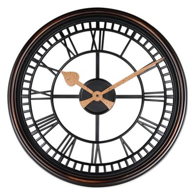 Roman Grill Wall Clock Bed Bath And Beyond