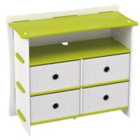 Legare® Furniture Frog 5-Shelf Tool-Free Dresser in Lime