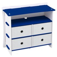 Legare® Furniture Blue Racer 5-Shelf Tool-Free Dresser in Blue