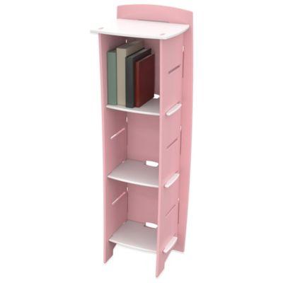 Legare® Furniture Princess 6 Shelf Tool Free Bookcase In Pink