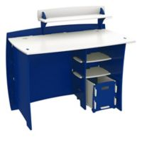 Legare® Tool-Free Racer Multi-Pack Desk System in Blue/White