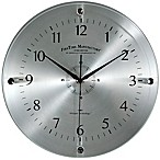 FirsTime® Steel Whisper Wall Clock
