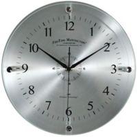 FirsTime® Steel Whisper Wall Clock