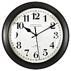 FirsTime® Slim Bronze Wall Clock