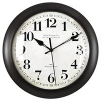 FirsTime® Slim Bronze Wall Clock