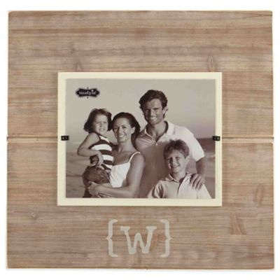 mud pie letter w 8 inch x 10 inch wood picture - Mud Pie Picture Frames