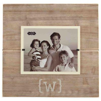 mud pie letter w 8 inch x 10 inch wood picture - Mud Pie Frames