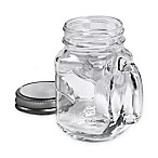 Tabletops Unlimited® Glass Mugs with Lids (Set of 4)
