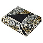 Vue™ Safari Patchwork Faux-Fur Throw