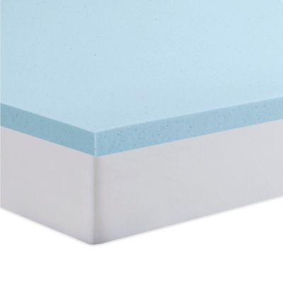 Serta Twin 2 Inch Gel Memory Foam Mattress Topper