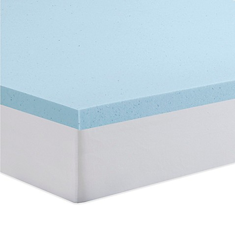 Serta 2 Inch Gel Memory Foam Mattress Topper Bed Bath
