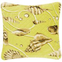 Calypso Shells Square Throw Pillow