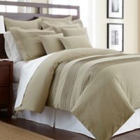 Salvatore King Duvet Cover Set with Swarovski® Crystals in Taupe