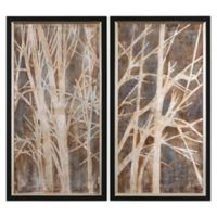 Uttermost Twigs Hand Painted Wall Art (Set of 2)